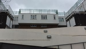 Cladding clean after